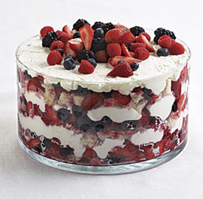 Summer Berry Trifle from Fine Cooking