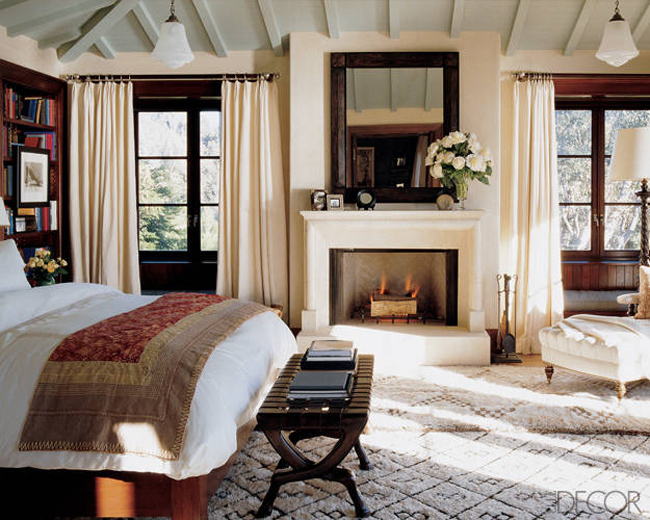 Cindy Crawford Bedroom House Beautiful