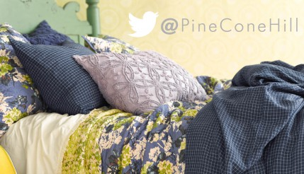 Follow Pine Cone Hill on Twitter—and Win Big!