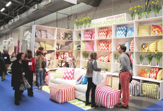 Fresh American Debut at the New York Gift Show - Fresh American Style