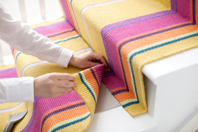 Do It Yourself: How To Install A Stair Runner