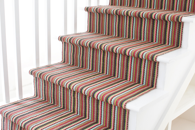 Do it yourself how to install a stair runner gracious for Dash and albert runners