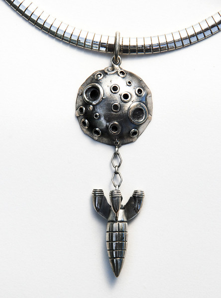 Rocket necklace by James Kennedy