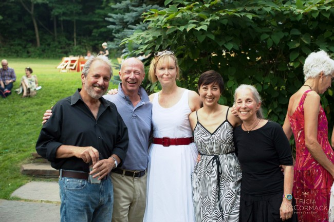 Annie (center) with Stonover co-owner Tom Werman, Melissa Matsuki Lillie, and Suky Werman. Photo by Tricia McCormack