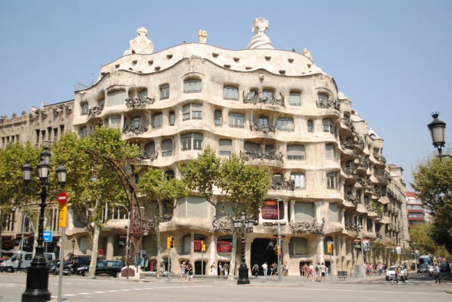 La Pedrera in daytime (photo by ScotlandAbroad)