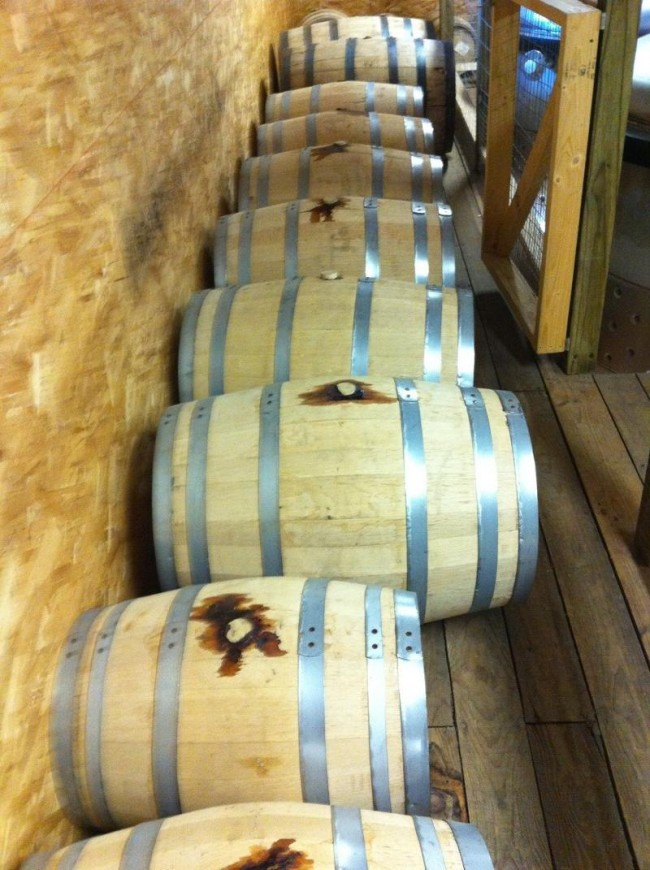 Berkshire Mountain casks
