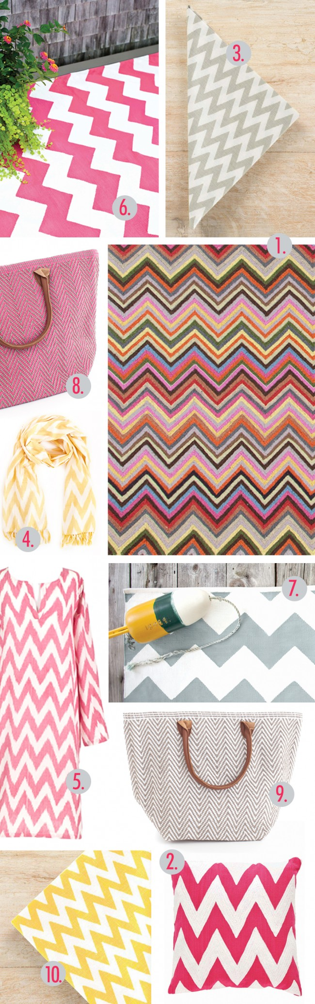 Fuchsia Chevron rug Chevron multi rug chevron scarf chevron light blue chevron kaftan chevron napkin chevron pillow