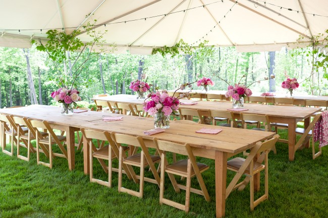 Simple Outdoor Party Decorations For Your Table And More