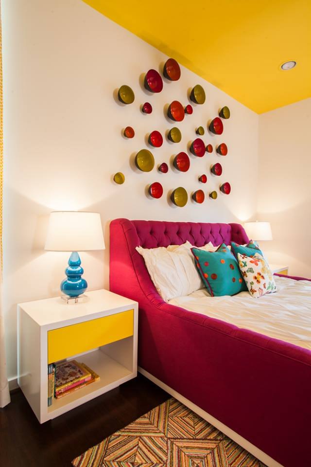 Sleek Bright Girls Bedroom Inspiration by Laura U