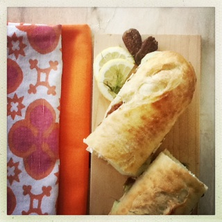 herb goat cheese and fig sandwiches 2