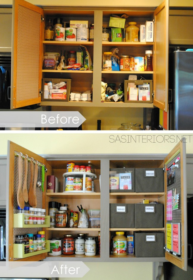kitchen cabinet organization SAS Interiors