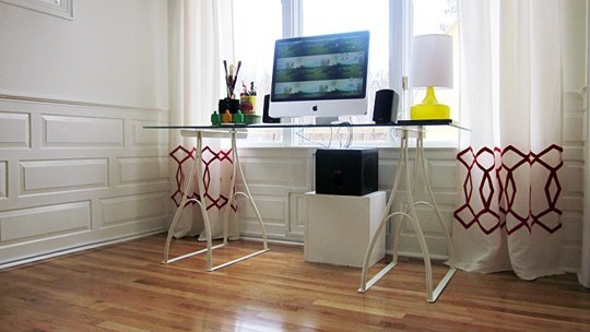 smart solutions for how to hide electrical cords. Black Bedroom Furniture Sets. Home Design Ideas