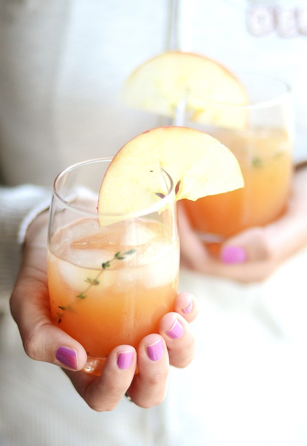 Verses from my Kitchen Cider Rum Punch