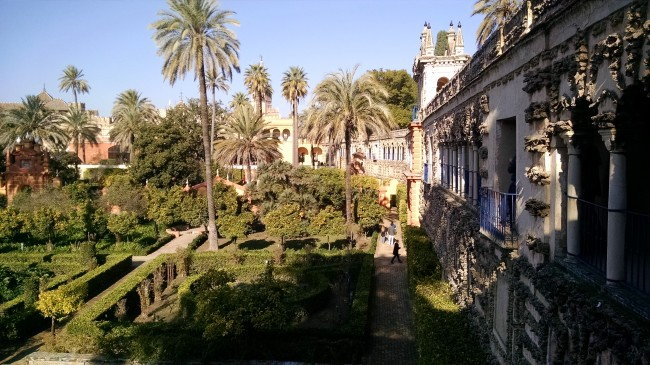 The Royal Alcázar of Seville, Spain