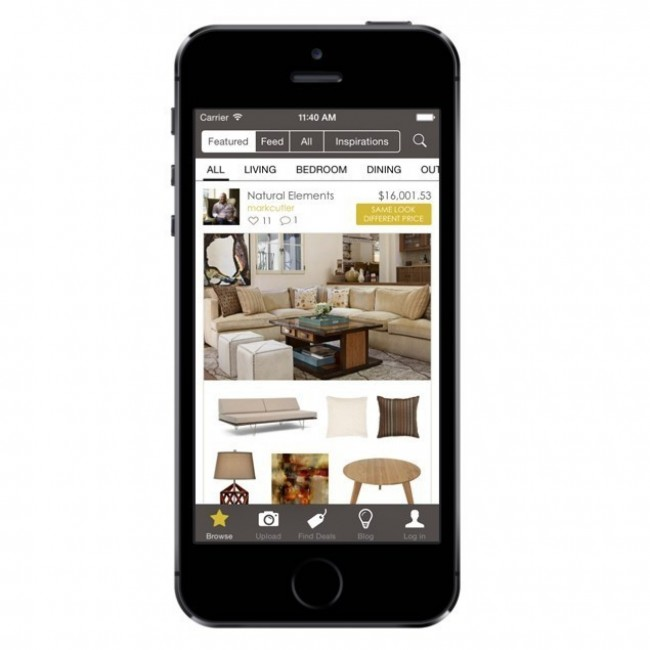 The app tacular now design in the palm of your hand Interior design apps for iphone
