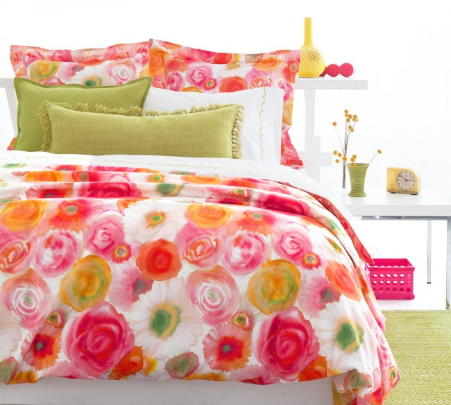 It Had To Be Hue Colorful Bedding Refresh