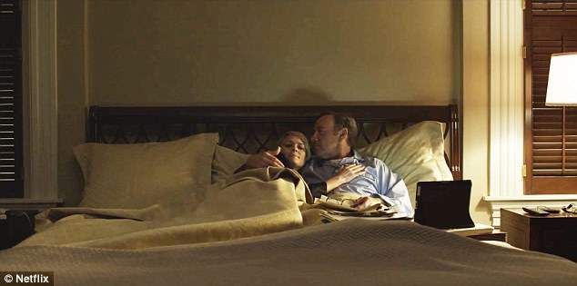 Frank and Claire bedroom House of Cards