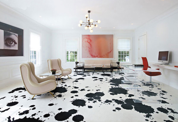 Dalmation painted floor FresHome1