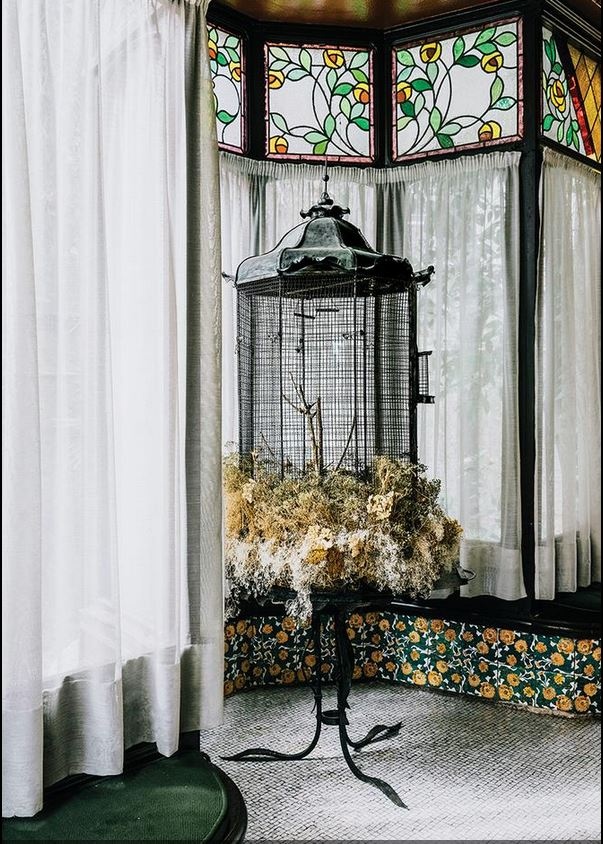 Casa Vicens Gaudi balcony Salva Lopez for WSJ Magazine