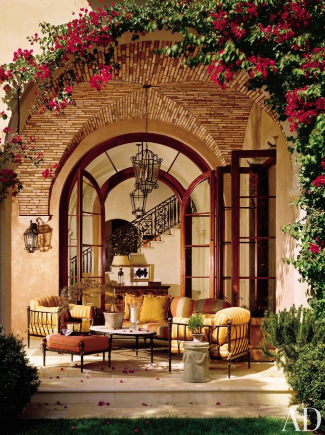 Photo by Mary E. Nichols, via Architectural Digest