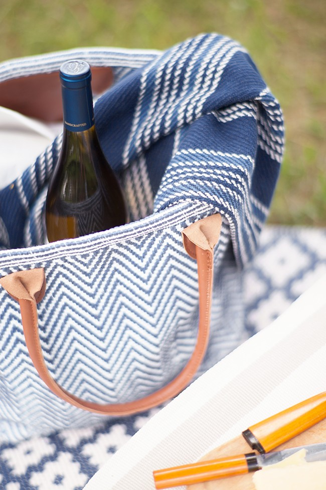 picnic ideas cotton throw