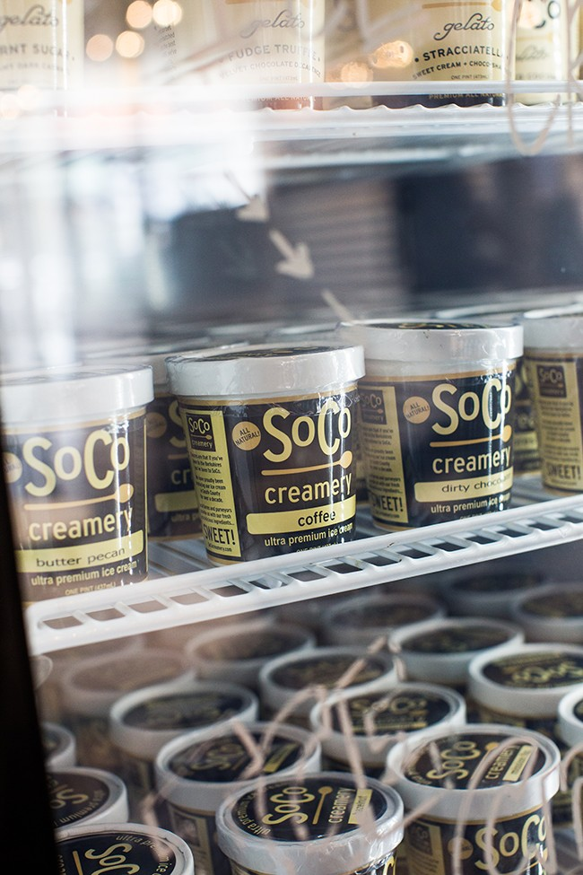 soco creamery ice cream berkshires case