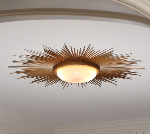 Sunburst Light Fixture