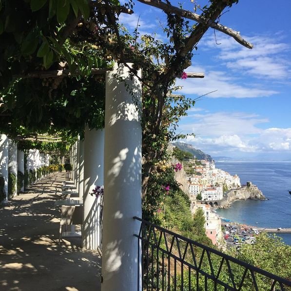 Amalfi Coast seaside