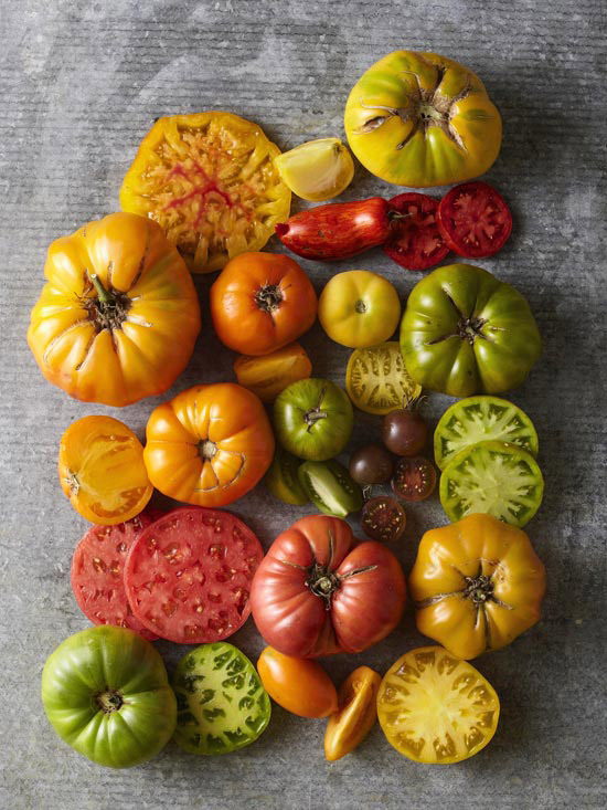 Heirloom tomatoes BHG