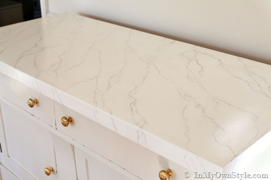 Faux-white-marble-painting-technique In My Own Style