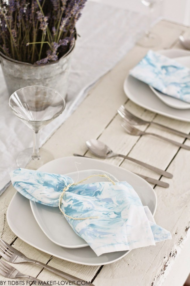 How to marble fabric Make It Love It
