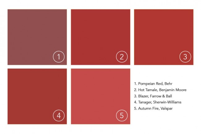 Annie S Color Crush Pompeian Red Fresh American Style
