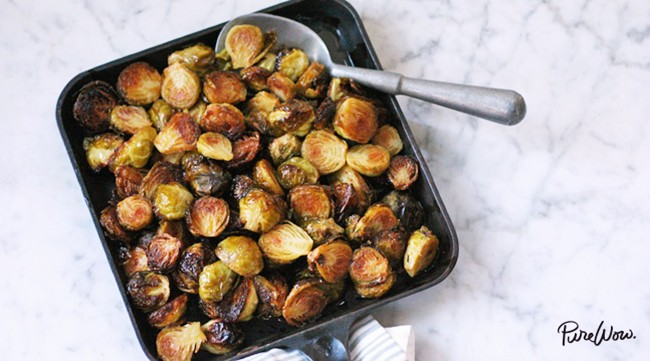 PureWow Spicy Roasted Brussels Sprouts