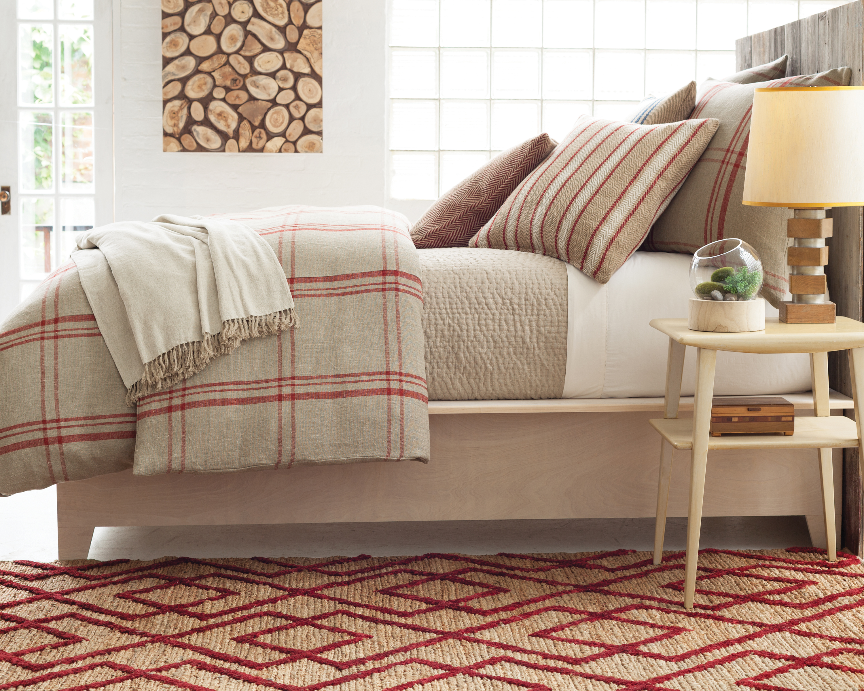 Country Redux Rustic Refined Bedroom Design