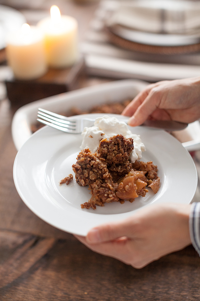 The Ultimate Gluten Free Holiday Apple Crisp Fresh