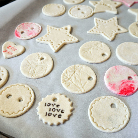 Salt Dough gift tags PopSugar