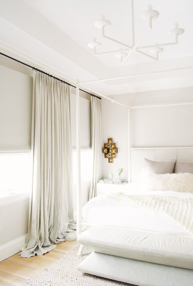 cuffhome brooklyn white bedroom My Domaine