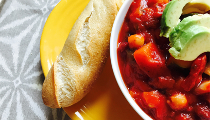 Hearty and Healthy Veggie Chili