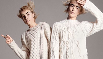 We're Crushing on: Vogue's White Winter Knits