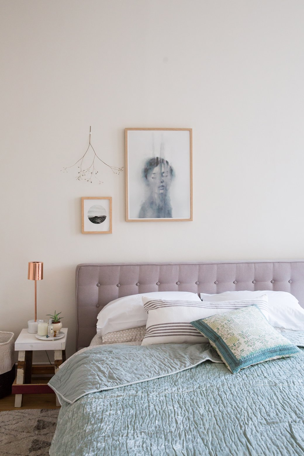 Winter Into Spring Bedroom Makeover With Holly Becker Of