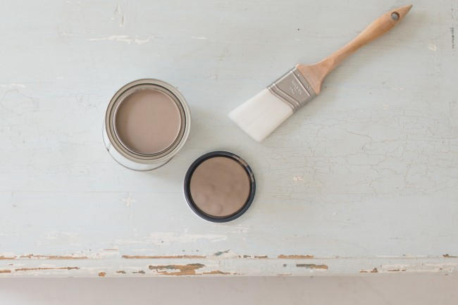 how to chalk paint 1