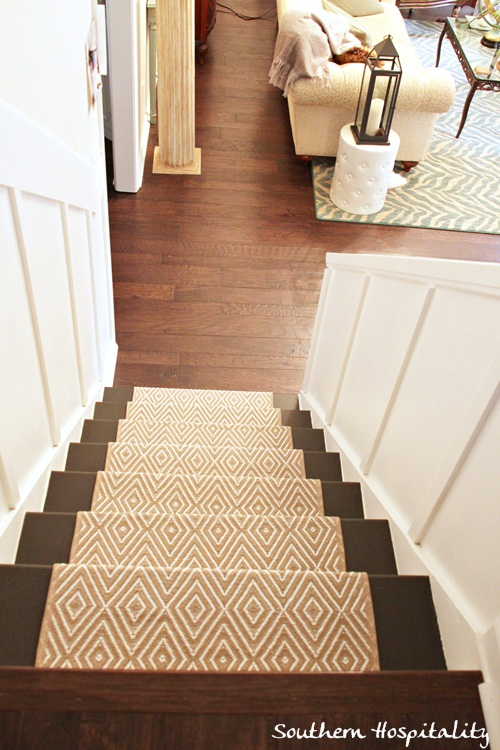 5 phenomenal stair runner installations fresh american style for Dash and albert runners