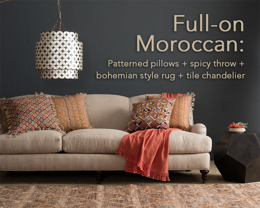 Moroccan Throw