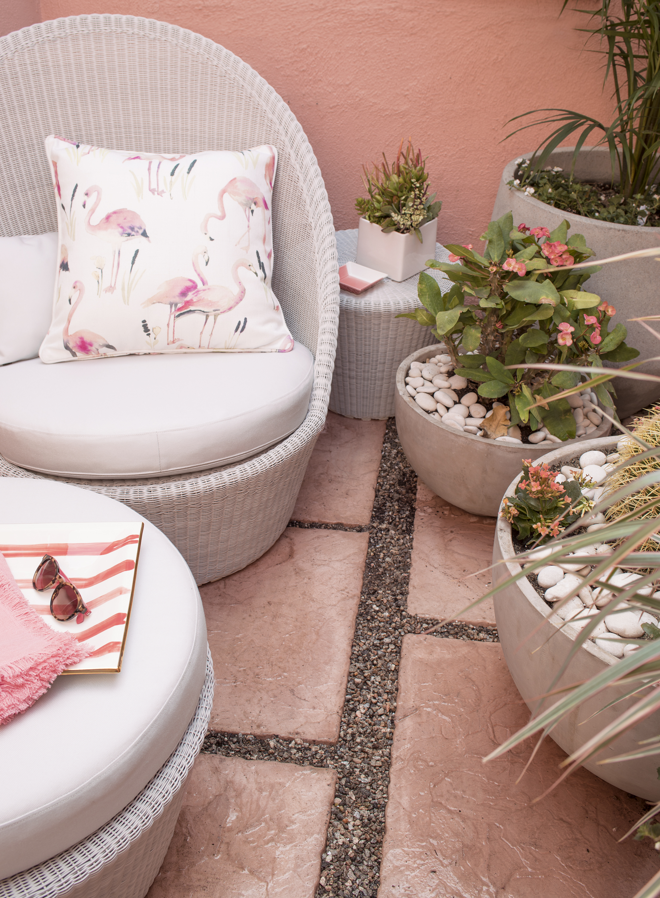 Annie Selke's Lanai at Marrakesh Country Club | Fresh American Style