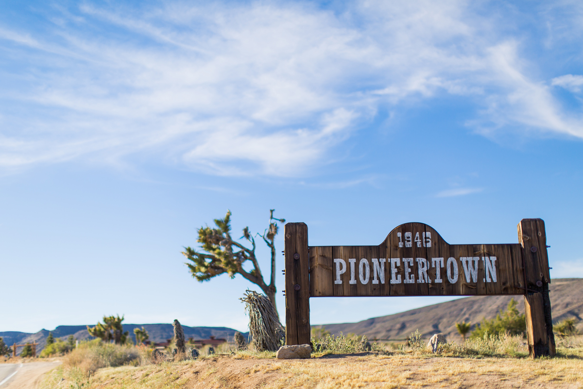 Pioneertown sign (photo credit: The Vondys) | Fresh American Style