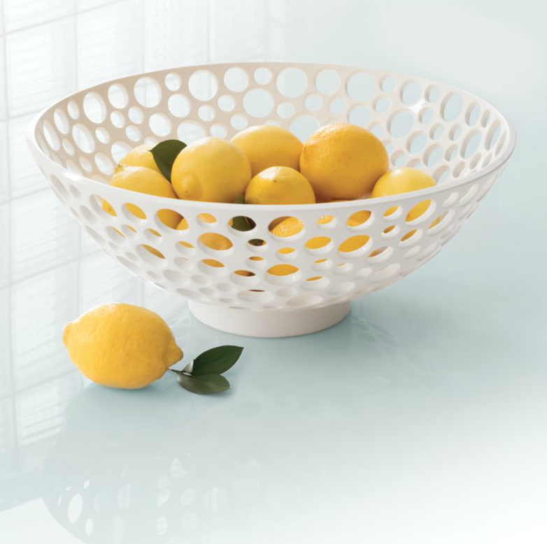 Low Large Lacey Bowl | Annie Selke's Palm Springs Collection | Fresh American Style