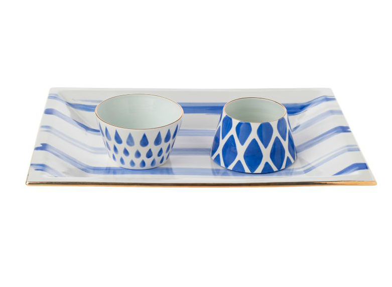 Speedy Stripes Pottery, Jill Rosenwald | Fresh American Style