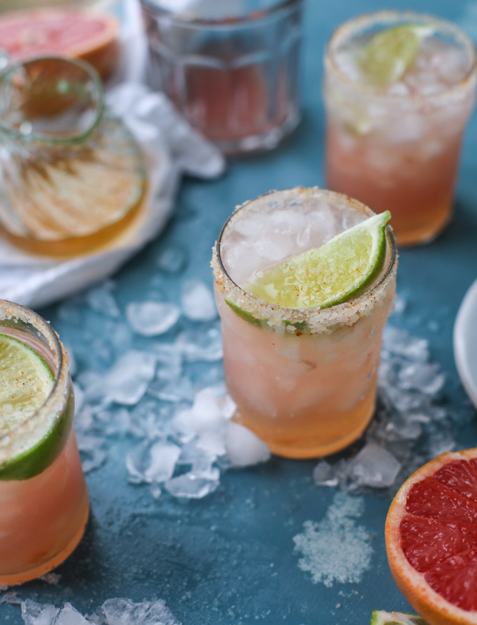 Grapefruit Margaritas via How Sweet It Is | Fresh American Style