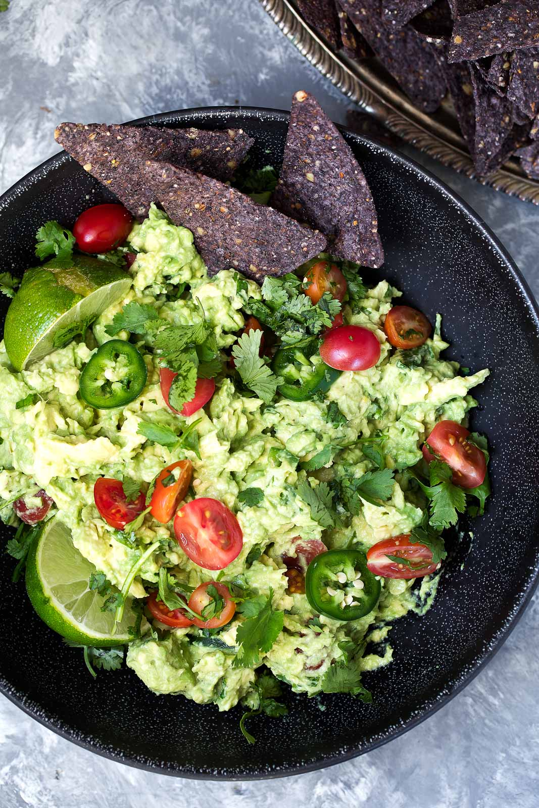 Guacamole Recipe via Ambitious Kitchen | Fresh American Style