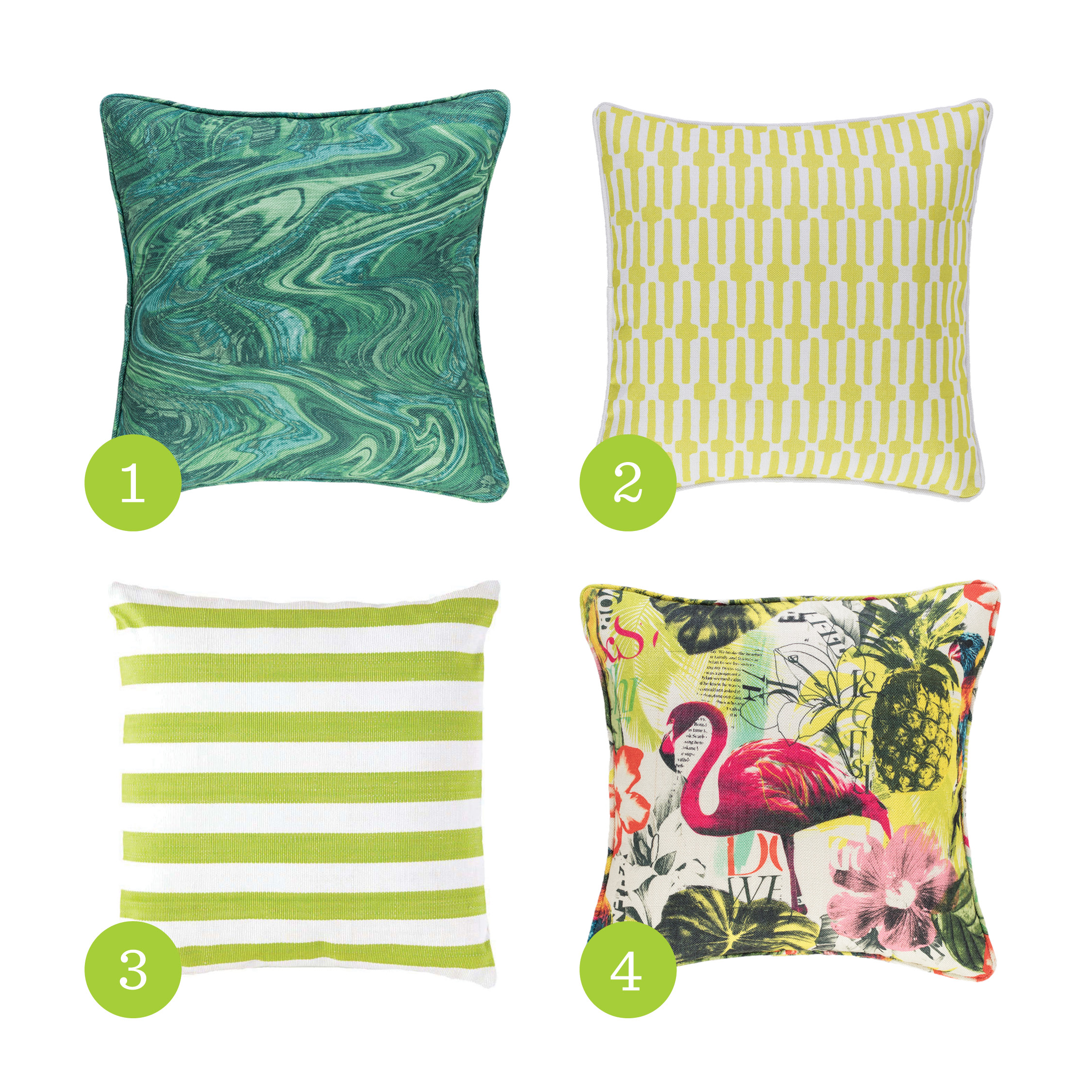 Indoor/Outdoor Pillows by Annie Selke | Fresh American Style